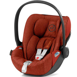Автокресло Cybex Cloud Z i-Size - Autumn Gold Plus