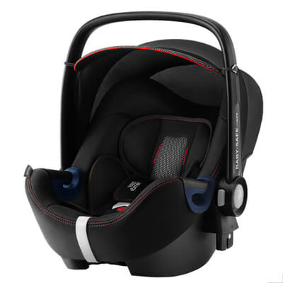 Автокресло Britax Romer Baby-Safe 2 i-Size + Flex Base - Cool Flow - Black