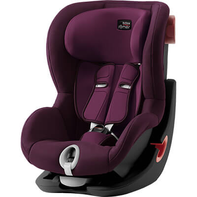 Автокресло Britax Römer King II - Burgundy Red
