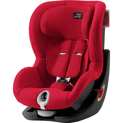 Автокресло Britax Römer King II - Fire Red