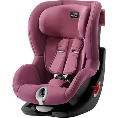 Автокресло Britax Römer King II - Wine Rose