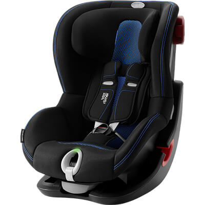 Автокресло Britax Römer King II LS - Cool Flow - Blue