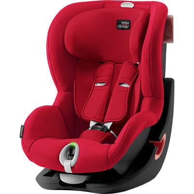 Автокресло Britax Römer King II LS - Fire Red