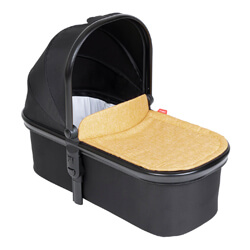 Блок для новорожденных Phil and Teds Snug Carrycot - Butterscotch Yellow